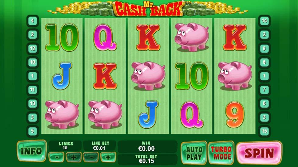 Mr. Cashback slot online