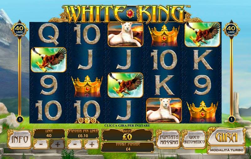 Play White King slot